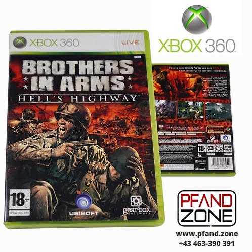 "X BOX 360 Game ""Brothers in Arms"""