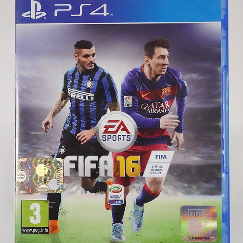 """PS 4 Game """"FIFA 16"""""""