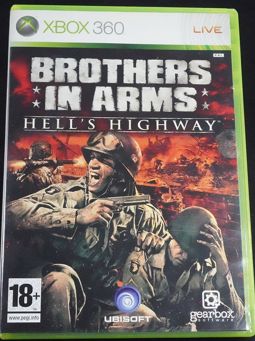 """xBox 360 Game """"BROTHERS in ARMS"""" hell´s highway"""