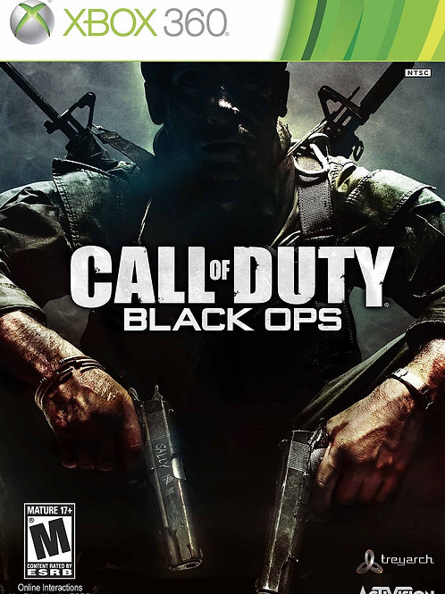 X-BOX Call of Duty OPS