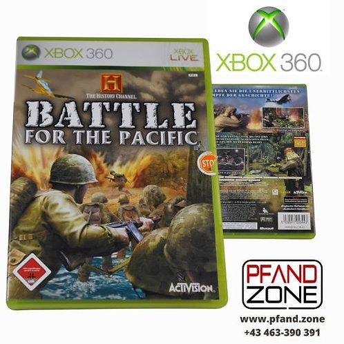 """X BOX 360 Game """"Battle for the Pacific"""""""