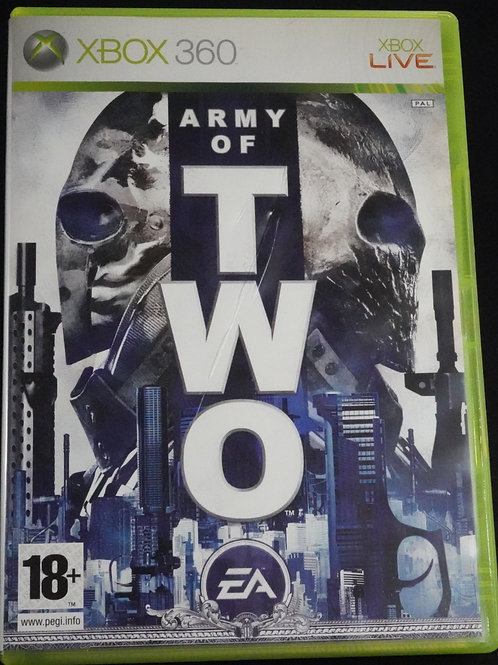 """xBox 360 Game """"ARMY of TWO"""""""
