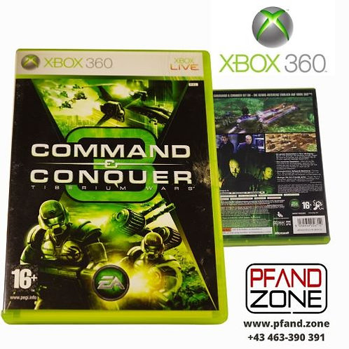 "X BOX 360 Game ""COMMAND CONQUER"""