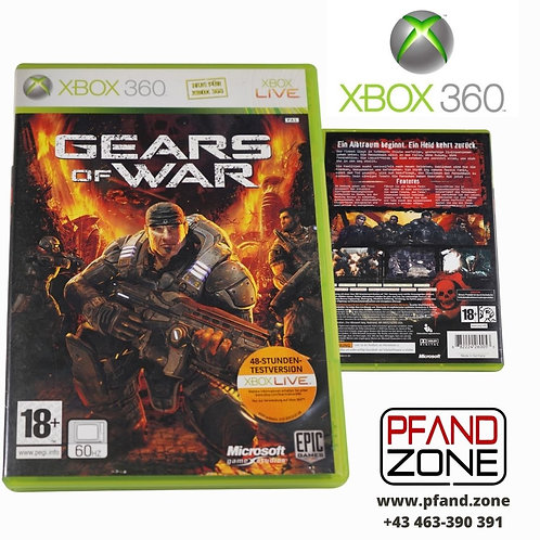 "X BOX 360 Game ""GEARS of WAR"""