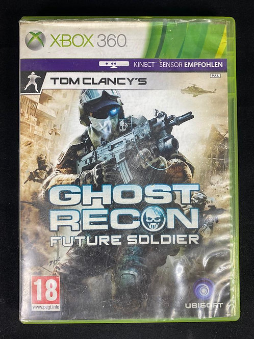 XBOX 360 Game GOHST REACTION Future Soldier