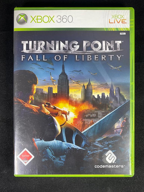 XBOX 360 Game  TURNING POINT - Fall of Liberty