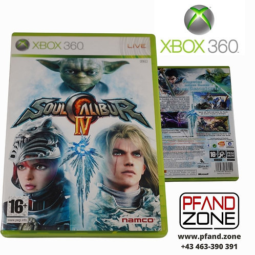 "X BOX 360 Game ""SOUL CALIBUR IV"""