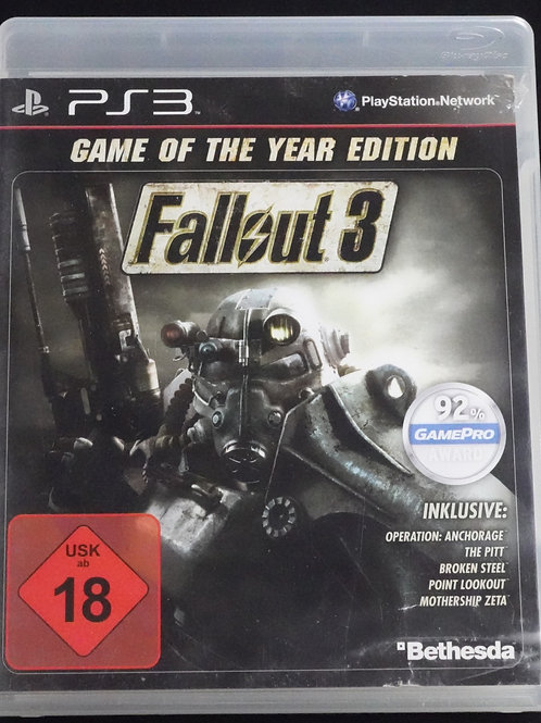 """PS 3 Game """"FALLOUT 3"""""""