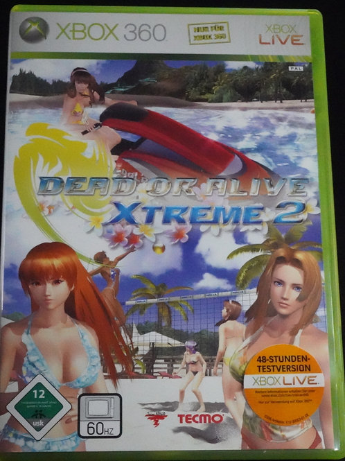 "xBox 360 Game ""DEAD or ALIVE"" Xtreme 2"