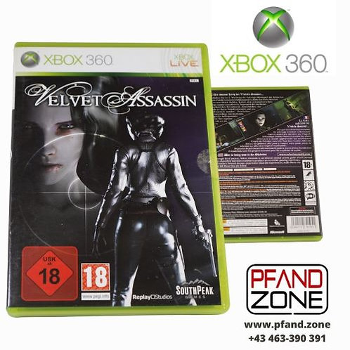 "X BOX 360 Game ""VELVET ASSASSIN"""