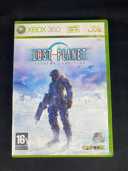 XBOX 360 Game Lost Planet