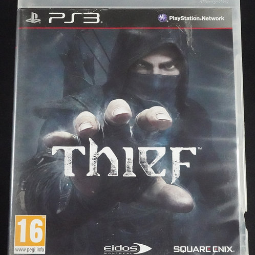 "PS 3 Game ""THIEF"""
