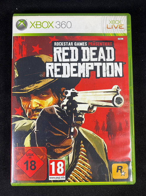 XBOX 360 Game RED DEAD REDEMTION