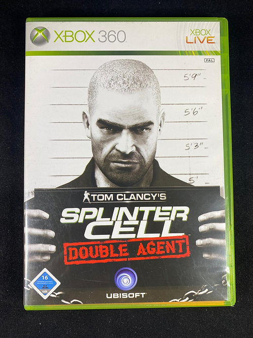 XBOX 360 Game SPLINTER CELL Double Agent