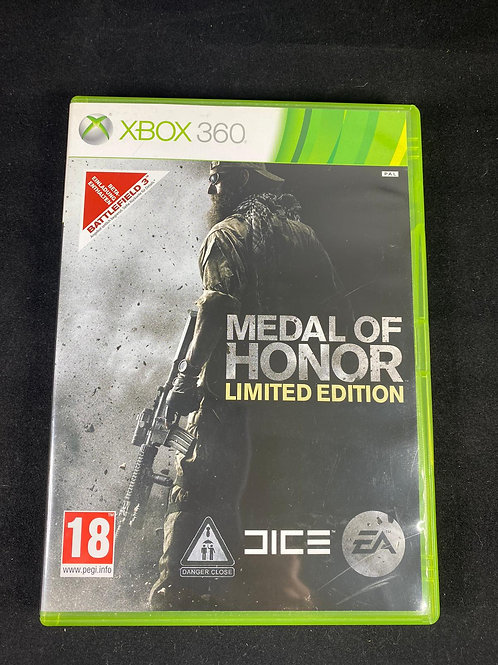 XBOX 360 Game MEDAL of HONOR limited Edition