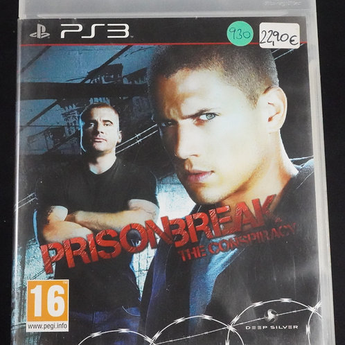"""PS 3 Game """"PRISON BREAK"""" the conspiracy"""