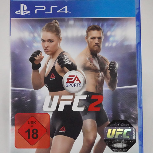 """PS 4 Game """"UFC 2"""" EA Sports"""