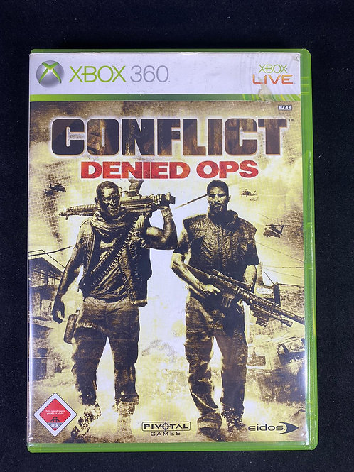 XBOX 360 Game Conflict Denied Ops
