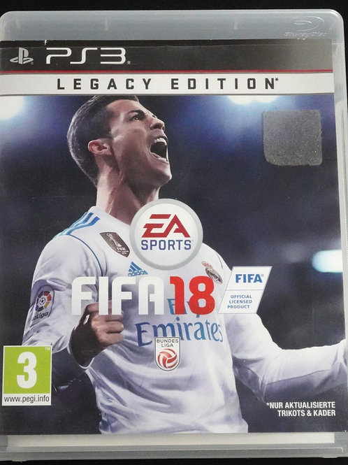 "PS 3 Game ""FIFA 18"""