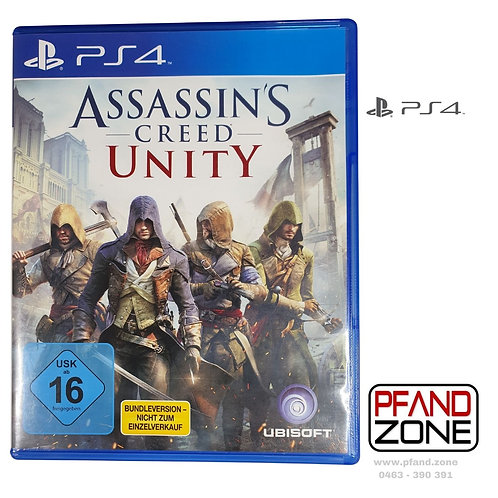PS 4 Spiel Assassin´s creed Unity