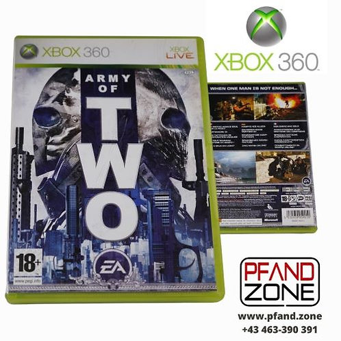 """X BOX 360 Game """"ARMY of TWO"""""""