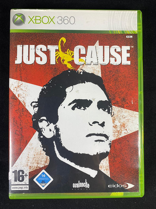 XBOX 360 Game Justice Cause