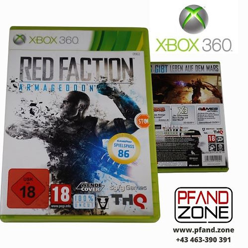 """X BOX 360 Game """"RED FACTION"""""""