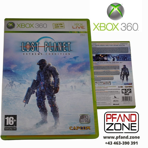 "X BOX 360 Game ""LOST PLANET"""