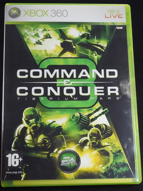 "xBox 360 Game ""COMMAND & CONQUER"""