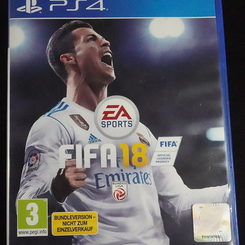"PS 4 Game ""FIFA 18"""