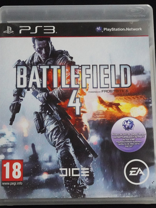 "PS 3 Game ""BATTLEFIELD 4"""