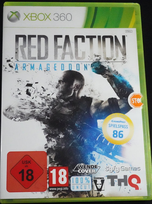 """xBox 360 Game """"RED FACTION"""" Armagedon´s"""