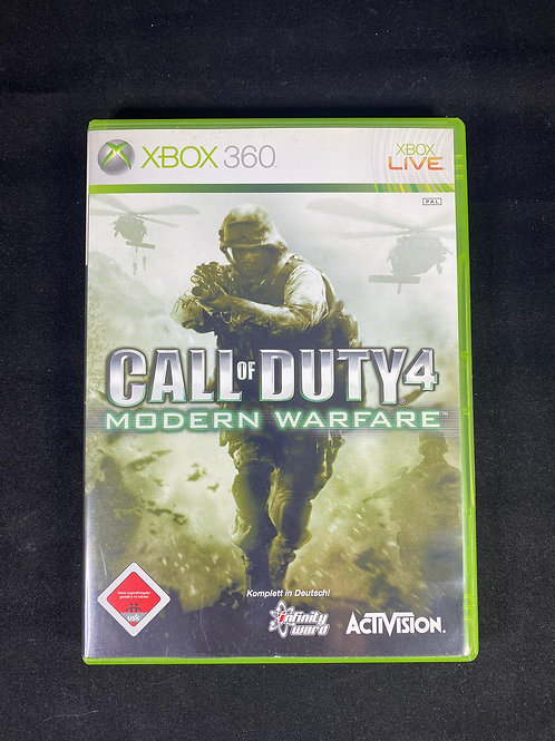 XBOX 360 Game  Call of Duty 4 Modern Warfire