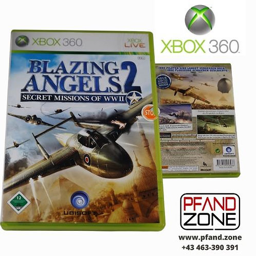 "X BOX 360 Game ""BAZING ANGELS2"""
