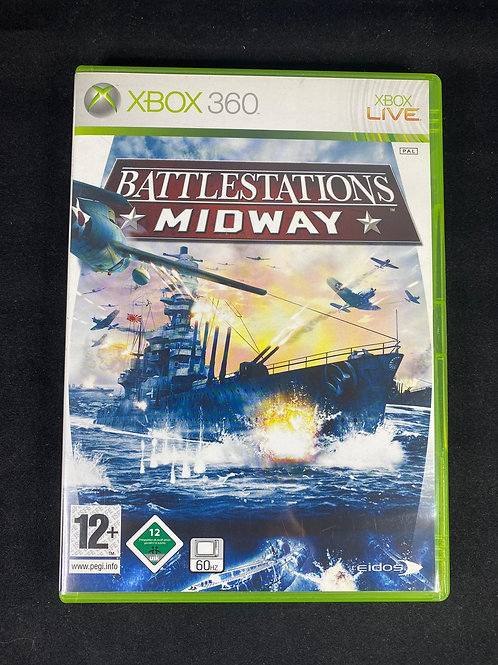 XBOX 360 Game  BATTLESTATIONS Midway