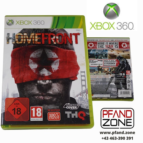 """X BOX 360 Game """"HOMEFRONT"""""""