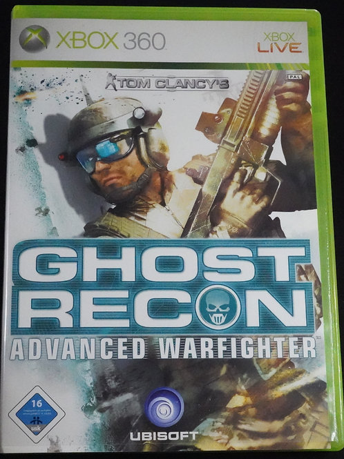 "xBox 360 Game ""GHOST RECON"" Advanced Warfighter"