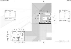 Plans de niveau R+1