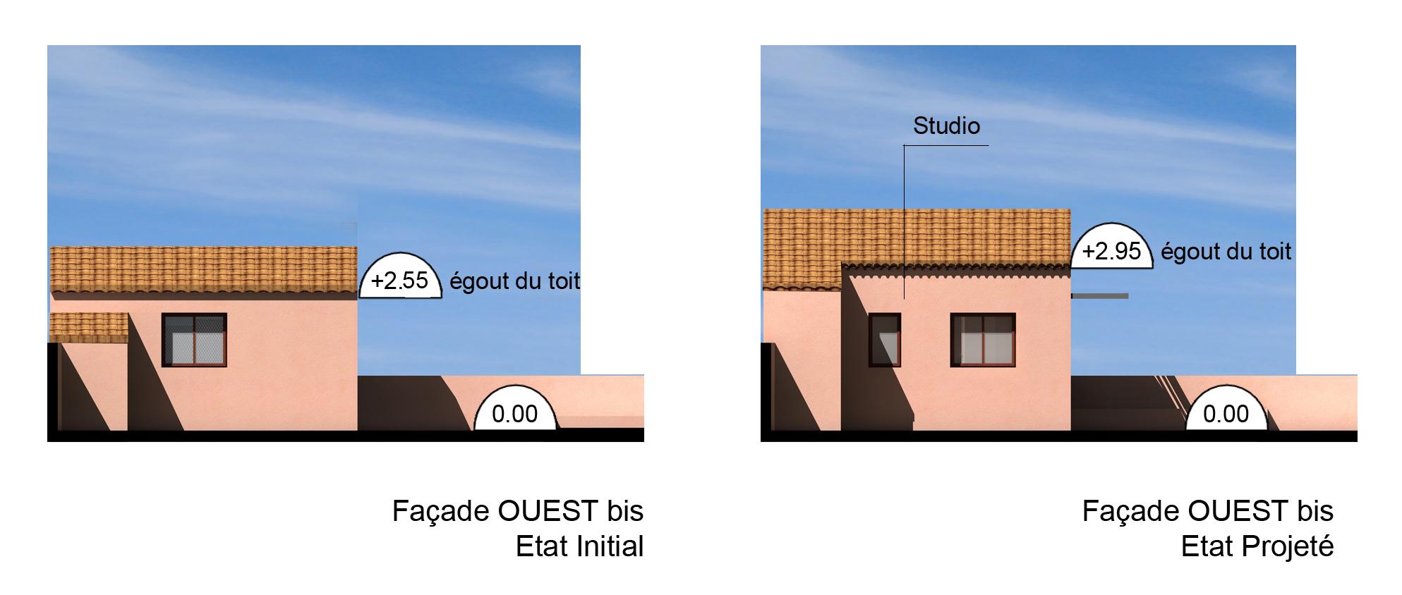 Façade Ouest 2