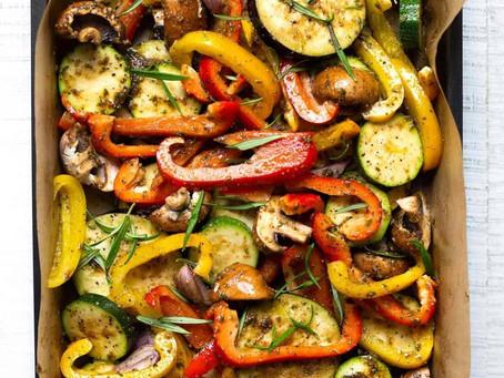 Gegrilde groentes met een verrassende kruidenmix