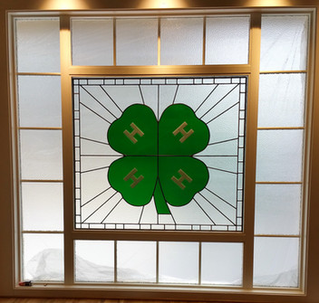 4-H Logo Window