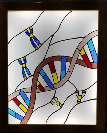 DNA with Light On
