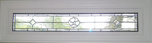 Clear Pansy Transom