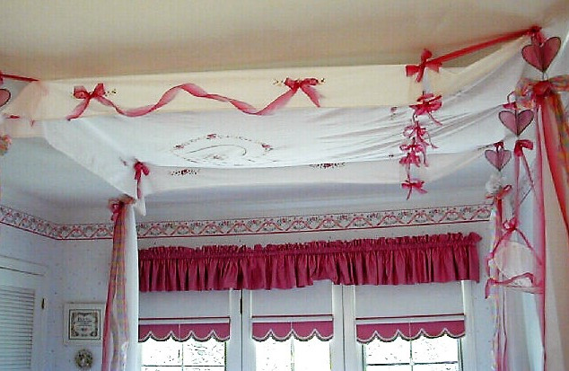 Heart Bed Canopy