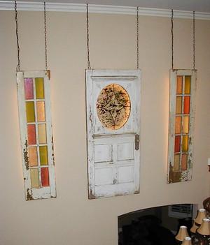 Antique door collection
