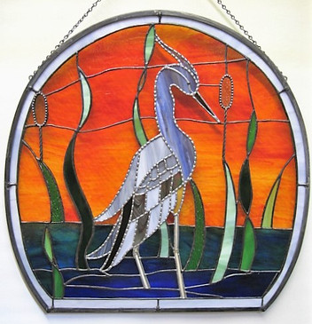 Heron from outside