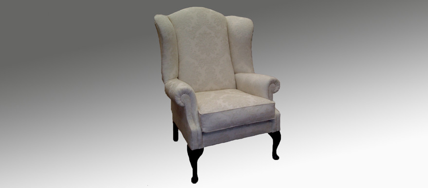 Claret Wing Chair