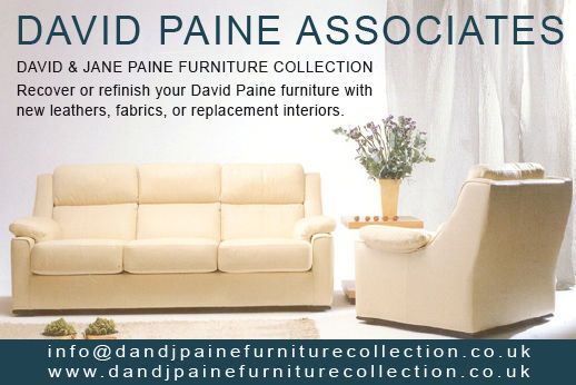 David Paine Furniture Collection - Recover or refinish your David Paine Furniture with new leathers, fabrics or replacement interiors