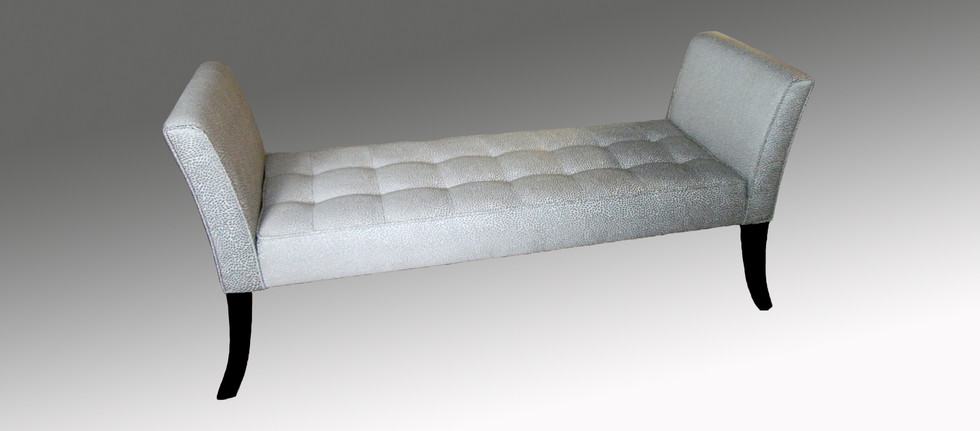 End of Bed Ottoman with Arms