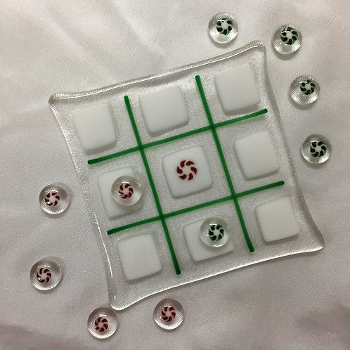 Peppermint Tic Tac Toe game